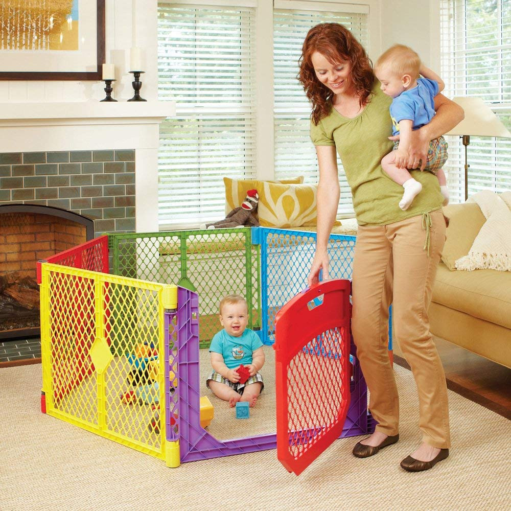 North States Superyard Colorplay Playard
