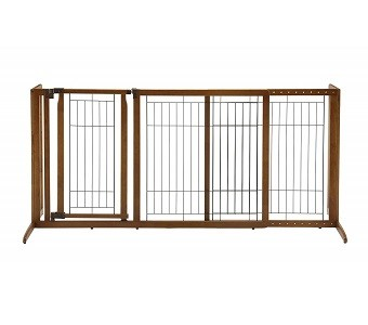 Richell Deluxe Freestanding Gate