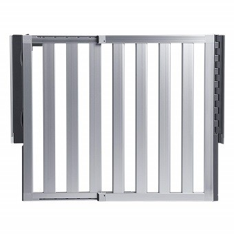 Munchkin Loft Aluminum Hardware Mount Baby Gate for Stairs